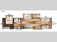 Floorplan - 2015 Forest River RV Wildwood 36BHBS