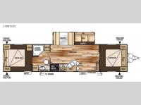 Floorplan - 2015 Forest River RV Wildwood 37BHSS2Q