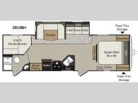 Floorplan - 2015 Keystone RV Passport 2810BH Grand Touring