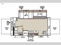 Floorplan - 2015 Forest River RV Flagstaff Shamrock 21SS