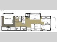 Floorplan - 2015 Forest River RV Sunseeker 2860DS Ford