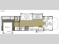 Floorplan - 2015 Forest River RV Sunseeker 3010DS Ford