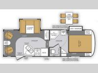 Floorplan - 2014 Forest River RV Wildcat Maxx 242RLX