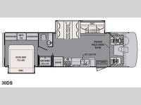 Floorplan - 2015 Forest River RV FR3 30DS