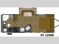Floorplan - 2015 Heartland North Trail 22RBK