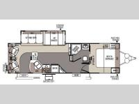 Floorplan - 2015 Forest River RV Rockwood Ultra Lite 2904SS