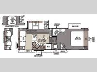 Floorplan - 2015 Forest River RV Rockwood Signature Ultra Lite 8244WS