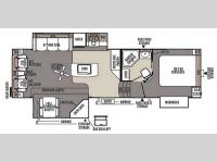 Floorplan - 2015 Forest River RV Rockwood Signature Ultra Lite 8289WS