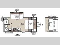 Floorplan - 2015 Forest River RV Rockwood Mini Lite 2104S
