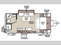 Floorplan - 2015 Forest River RV Rockwood Mini Lite 2109S