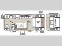 Floorplan - 2015 Forest River RV Rockwood Mini Lite 2304