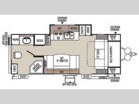 Floorplan - 2015 Forest River RV Rockwood Mini Lite 2503S