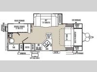 Floorplan - 2015 Forest River RV Rockwood Mini Lite 2504S