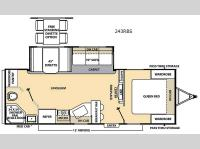 Floorplan - 2015 Coachmen RV Catalina 243RBS