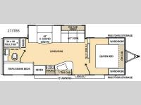 Floorplan - 2015 Coachmen RV Catalina 273TBS