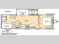 Floorplan - 2015 Coachmen RV Catalina 293QBCK