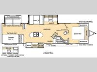 Floorplan - 2015 Coachmen RV Catalina 333BHKS