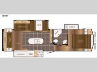 Floorplan - 2015 Prime Time Manufacturing Crusader 295RST