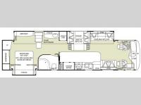 Floorplan - 2007 Fleetwood RV Bounder Diesel 38V