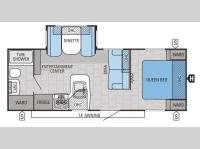 Floorplan - 2015 Jayco Jay Flight 24FBS