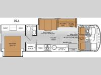 Floorplan - 2015 Thor Motor Coach ACE 30.1