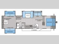 Floorplan - 2015 Jayco Eagle 314TSBH