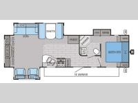 Floorplan - 2015 Jayco Eagle 318RETS