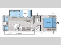 Floorplan - 2015 Jayco White Hawk 27DSRL
