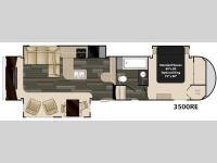 Floorplan - 2015 Heartland Gateway 3500 RE