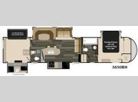 Floorplan - 2015 Heartland Gateway 3650 BH
