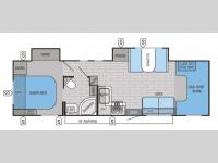 Floorplan - 2015 Jayco Greyhawk 31DS