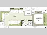 Floorplan - 2004 Forest River RV Rockwood 2605