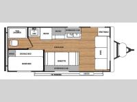 Floorplan - 2015 Forest River RV Salem Cruise Lite 181BHXL
