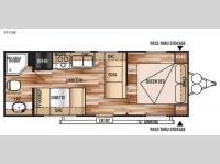 Floorplan - 2015 Forest River RV Salem Cruise Lite 241QBXL