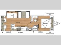 Floorplan - 2015 Forest River RV Salem Cruise Lite 252RLXL