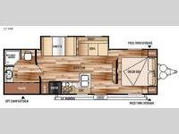 Floorplan - 2015 Forest River RV Salem Cruise Lite 271RBXL