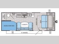 Floorplan - 2015 Jayco Jay Flight 23MB