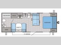 Floorplan - 2015 Jayco Jay Flight 23RB
