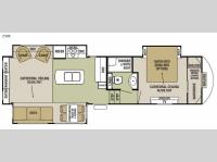 Floorplan - 2015 Forest River RV Cedar Creek Silverback 29IK