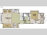 Floorplan - 2015 Forest River RV Cedar Creek Silverback 29RE