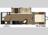 Floorplan - 2015 Heartland Trail Runner 27ODK