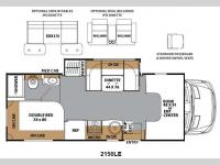 Floorplan - 2015 Coachmen RV Prism 2150 LE
