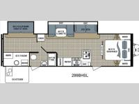 Floorplan - 2015 Dutchmen RV Kodiak 299BHSL Express