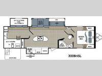 Floorplan - 2015 Dutchmen RV Kodiak 300BHSL Ultimate