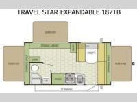Floorplan - 2015 Starcraft Travel Star 187TB
