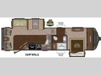 Floorplan - 2015 Keystone RV Sprinter 269FWRLS