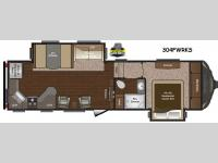 Floorplan - 2015 Keystone RV Sprinter 304FWRKS