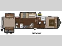 Floorplan - 2015 Keystone RV Sprinter 343FWBHS