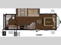 Floorplan - 2015 Keystone RV Sprinter 266RBS