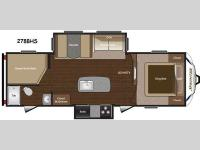 Floorplan - 2015 Keystone RV Sprinter 278BHS